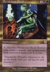 Pernicious Deed - Foil on Channel Fireball