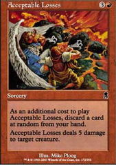 Acceptable Losses - Foil