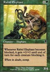 Rabid Elephant - Foil