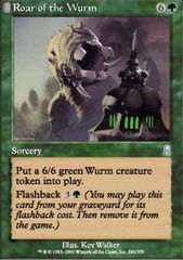 Roar of the Wurm - Foil