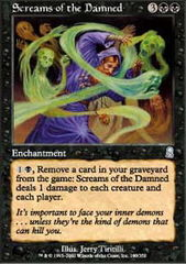 Screams of the Damned - Foil