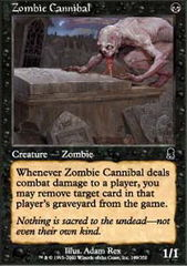 Zombie Cannibal - Foil
