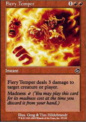 Fiery Temper - Foil on Channel Fireball
