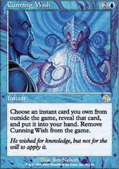 Cunning Wish - Foil on Channel Fireball