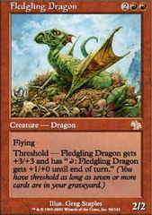 Fledgling Dragon - Foil on Channel Fireball