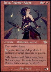 Jeska, Warrior Adept - Foil on Channel Fireball