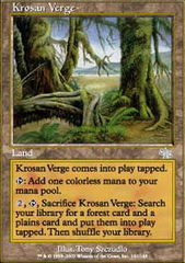 Krosan Verge - Foil on Channel Fireball