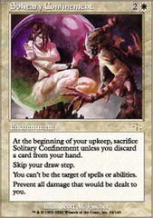 Solitary Confinement - Foil on Channel Fireball
