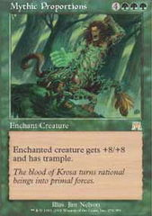 Mythic Proportions - Foil