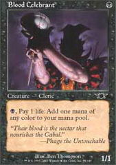 Blood Celebrant - Foil on Channel Fireball