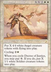 Decree of Justice - Foil on Channel Fireball