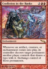 Confusion in the Ranks - Foil