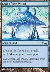Seat of the Synod - Foil on Channel Fireball