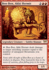 Ben-Ben, Akki Hermit - Foil on Channel Fireball