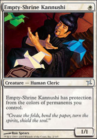 Empty-Shrine Kannushi - Foil