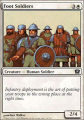 Foot Soldiers - Foil