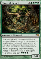 Force of Nature - Foil