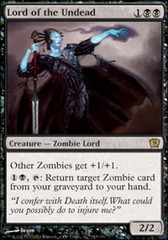 Lord of the Undead - Foil on Channel Fireball