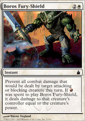 Boros Fury-Shield - Foil on Channel Fireball