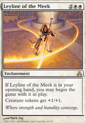 Leyline of the Meek - Foil on Channel Fireball