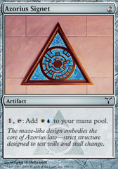 Azorius Signet - Foil on Channel Fireball