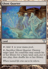 Ghost Quarter - Foil on Channel Fireball