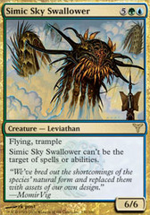 Simic Sky Swallower - Foil on Channel Fireball