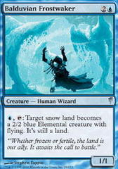 Balduvian Frostwaker - Foil on Channel Fireball