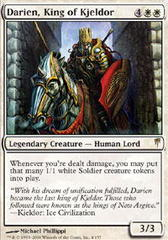 Darien, King of Kjeldor - Foil on Ideal808