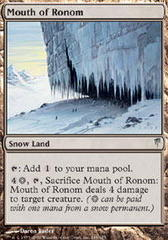 Mouth of Ronom - Foil
