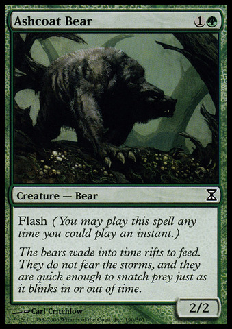 Ashcoat Bear - Foil