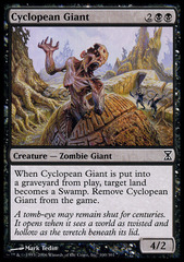 Cyclopean Giant - Foil