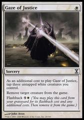 Gaze of Justice - Foil
