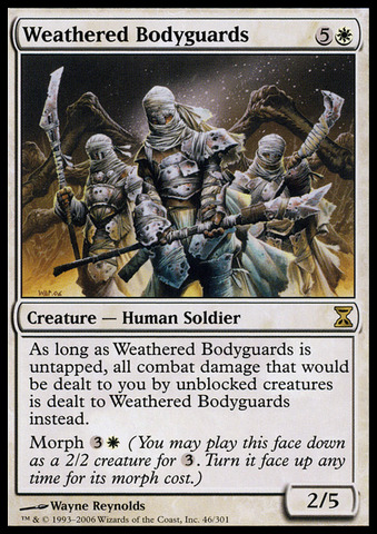 Weathered Bodyguards - Foil