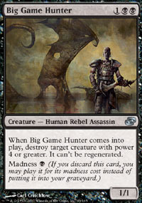 Big Game Hunter - Foil