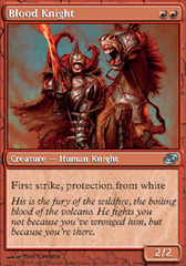 Blood Knight - Foil on Channel Fireball