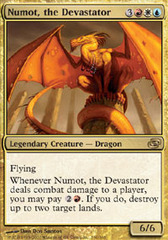 Numot, the Devastator - Foil on Channel Fireball