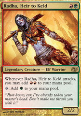 Radha, Heir to Keld - Foil on Channel Fireball