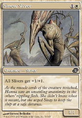 Sinew Sliver - Foil on Channel Fireball