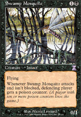 Swamp Mosquito - Foil on Channel Fireball