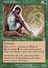 Wall of Roots - Foil