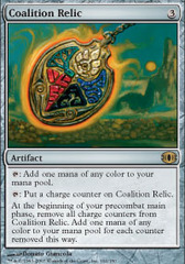 Coalition Relic - Foil on Channel Fireball