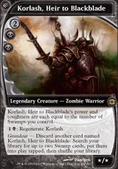 Korlash, Heir to Blackblade - Foil