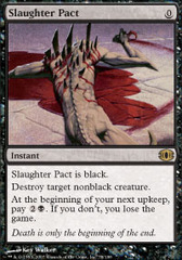 Slaughter Pact - Foil on Channel Fireball