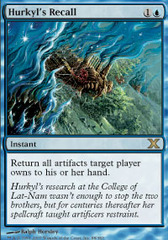 Hurkyl's Recall - Foil on Channel Fireball