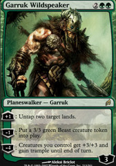 Garruk Wildspeaker - Foil on Channel Fireball
