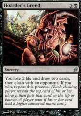 Hoarder's Greed - Foil
