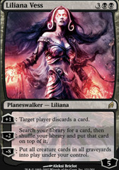 Liliana Vess - Foil on Channel Fireball