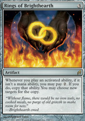 Rings of Brighthearth - Foil on Channel Fireball