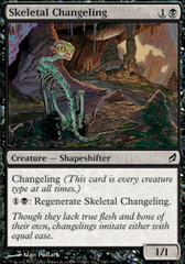 Skeletal Changeling - Foil